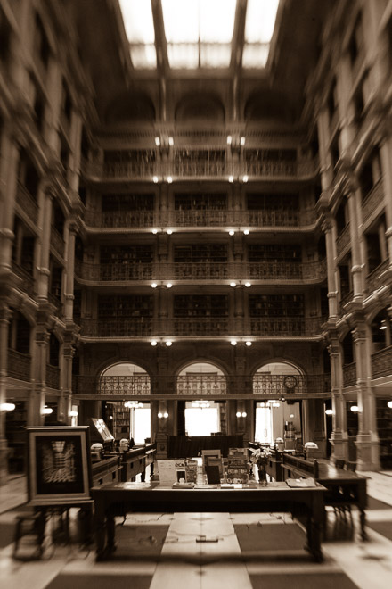 George Peabody Library, Baltimore, MD